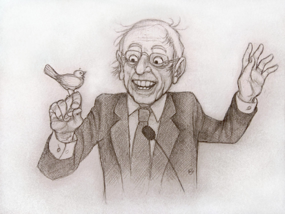 Portrait de Bernie Sanders